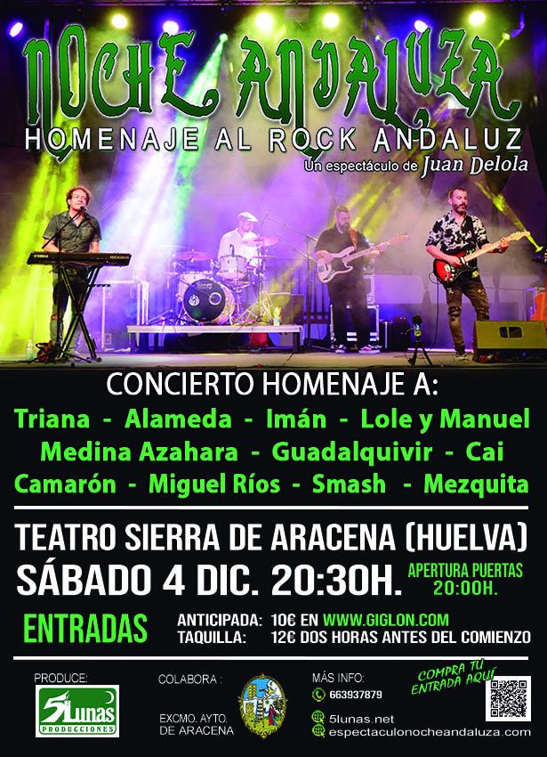 Noche aNdaluza Teatro Aracena Diciembre